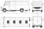 Mercedes-Benz Vario 614D Van MWB High Roof