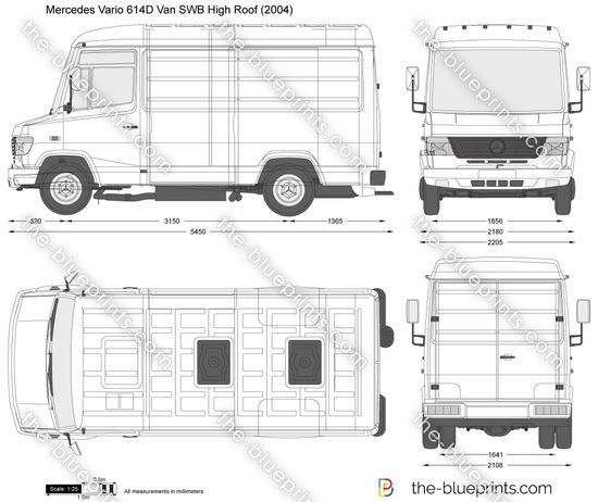 Mercedes-Benz Vario 614D Van SWB High Roof