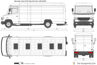 Mercedes-Benz Vario 814D High Roof Van LWB