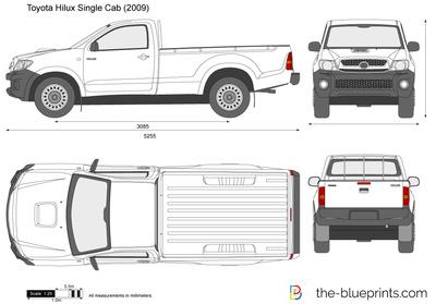 Toyota Hilux 4x2 Single Cab