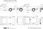 Volkswagen Caddy Pick-Up (1996)