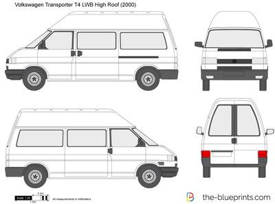 Volkswagen Transporter T4 LWB High Roof (2000)
