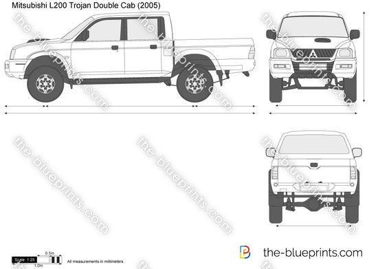 Mitsubishi L200 Trojan Double Cab