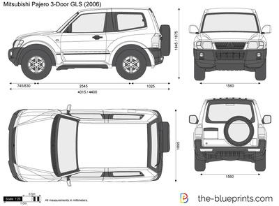 Mitsubishi Pajero 3-Door GLS