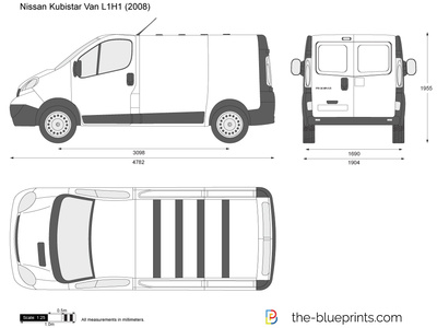 the vector drawing nissan primastar van. Black Bedroom Furniture Sets. Home Design Ideas