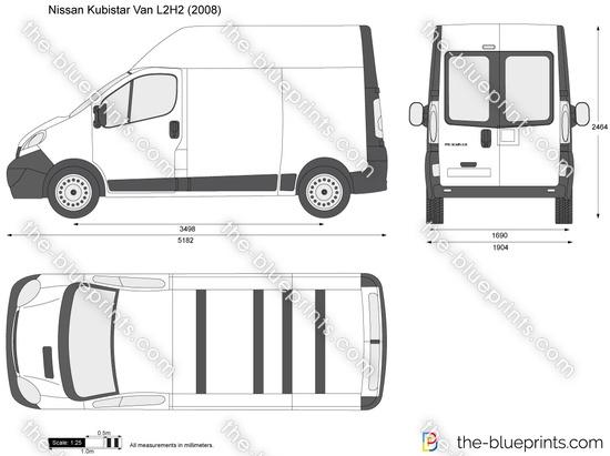 Nissan Primastar Van L2H2