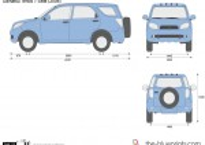 Daihatsu Terios 7-Seat