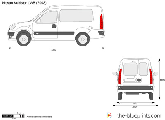 Nissan Kubistar LWB
