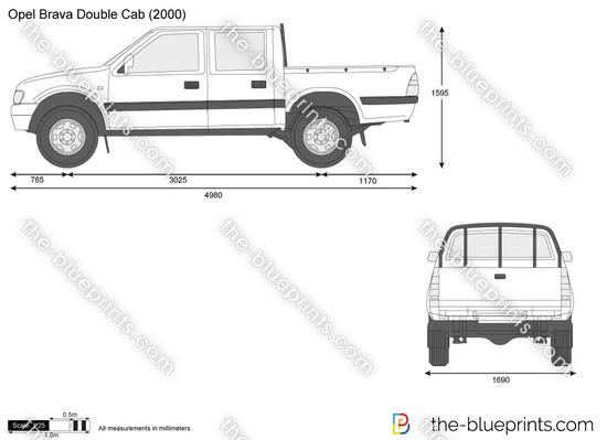 Opel Brava Double Cab