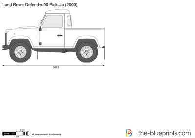 Land Rover Defender 90 Pick-Up