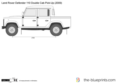 Land Rover Defender 110 Double Cab Pick-Up