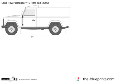 Land Rover Defender 110 Hard Top