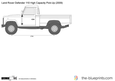 Land Rover Defender 110 High Capacity Pick-Up