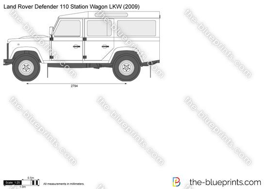 Land Rover Defender 110 Station Wagon LKW