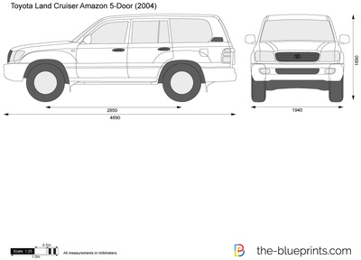 Toyota Land Cruiser Amazon 5-Door