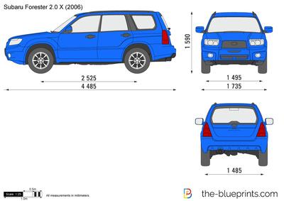 Subaru Forester 2.0 X (2006)