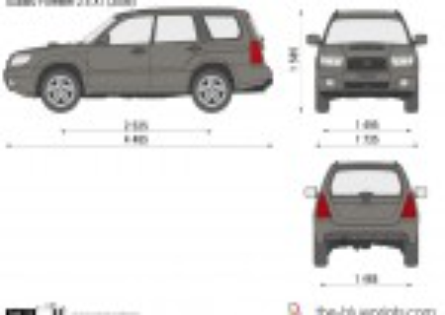 Subaru Forester 2.5 XT (2006)