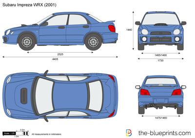 Subaru Impreza WRX (2001)