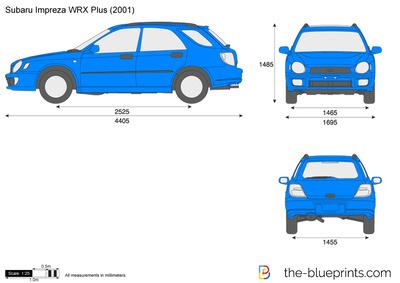 Subaru Impreza WRX Plus (2001)