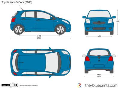 Toyota Yaris 5-Door