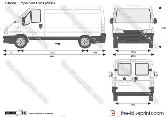 the vector drawing citroen jumper van mwb. Black Bedroom Furniture Sets. Home Design Ideas