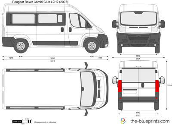 Peugeot Boxer Combi Club L2H2