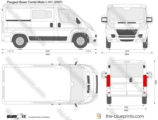 Peugeot Boxer Combi Mixto L1H1