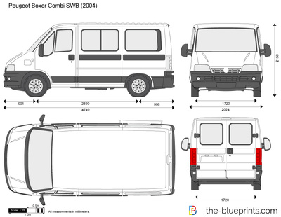 pin peugeot boxer dimensions vector pictures on pinterest. Black Bedroom Furniture Sets. Home Design Ideas