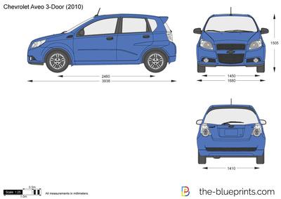 Chevrolet Aveo 3-Door (2010)