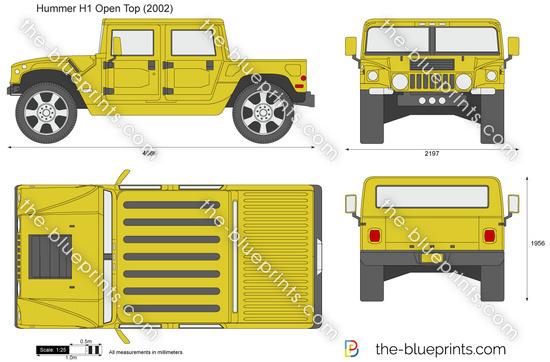 Hummer H1 Open Top