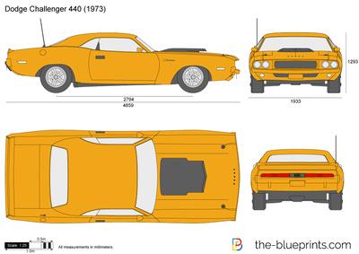 Dodge Challenger 440