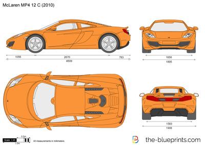 McLaren MP4 12 C