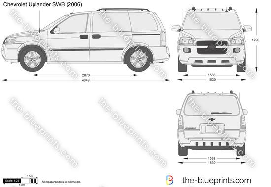 Chevrolet Uplander SWB