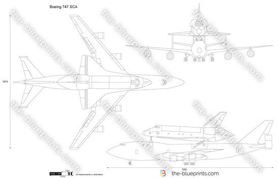 Boeing 747 SCA