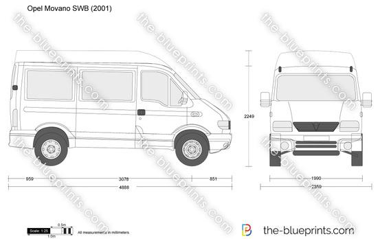 Opel Movano SWB