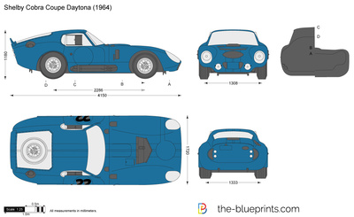 Shelby Cobra Coupe Daytona