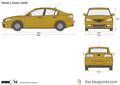 Mazda 3 Sedan (2008)