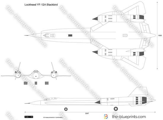 Lockheed YF-12A Blackbird