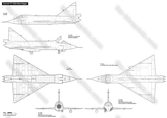 Convair TF-102A Delta Dagger