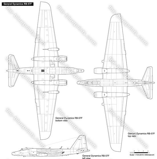 General Dynamics RB-57F