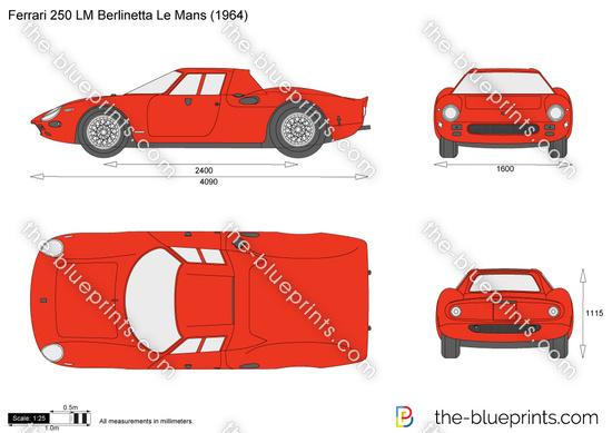 Ferrari 250 LM Berlinetta Le Mans