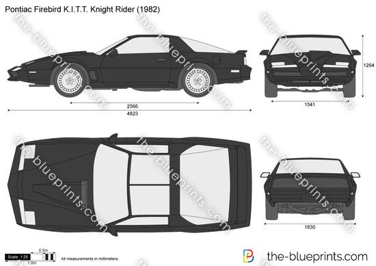 Pontiac Firebird KITT Knight Rider
