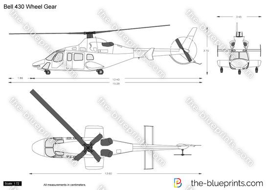 Bell 430 Wheel Gear