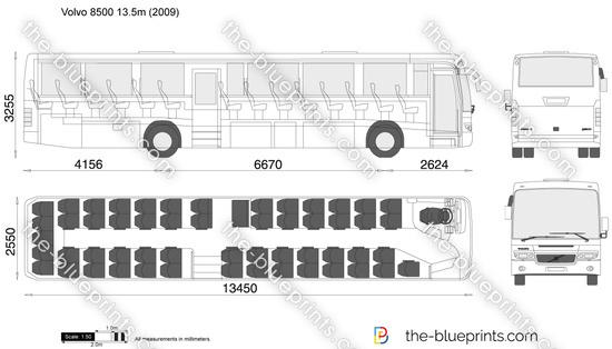 Volvo 8500 13.5m