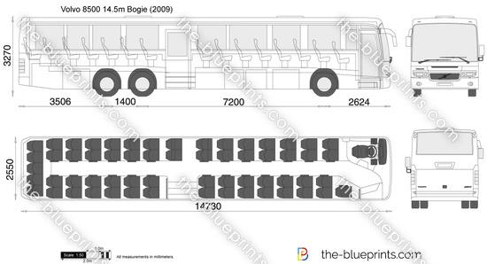 Volvo 8500 14.5m Bogie