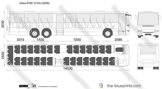 Volvo 8700 13.5m