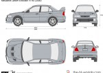 Mitsubishi Lancer Evolution VI RS