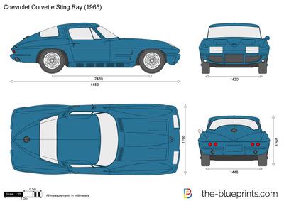 Chevrolet Corvette Sting Ray (1965)