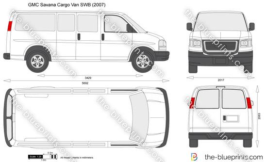 GMC Savana Cargo Van SWB