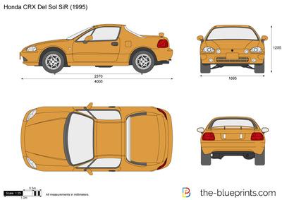 Honda CRX Del Sol SiR